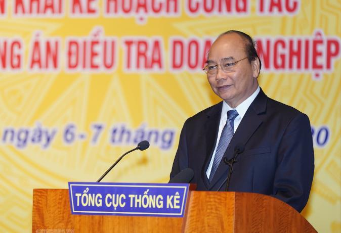 Bài phát biểu của TT Chính phủ Nguyễn Xuân Phúc tại Hội nghị triển khai kế hoạch công tác của Ngành Thống kê năm 2020